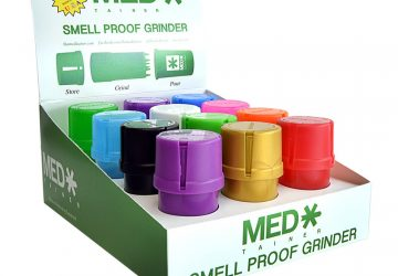 The MedTainer smell proof grinder